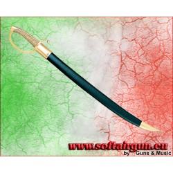 spada napoleonica Briquet sabre in metallo Denix 77cm con...
