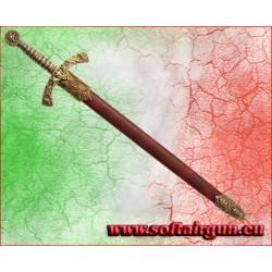 Tagliacarte spada Templare in metallo Denix 27cm con...