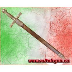 Spada Excalibur di Re Artù Tagliacarte in metallo Denix...