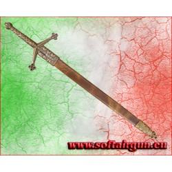 Spada Claymore in metallo Tagliacarte Denix 30cm con...
