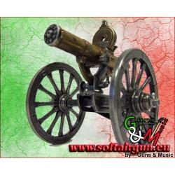 Cannone mitragliatore Gatling USA 1861 in metallo Denix...