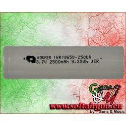 FUEL BATTERIA RICARICABILE LI-ION 3.7X2500 PER TORCE...