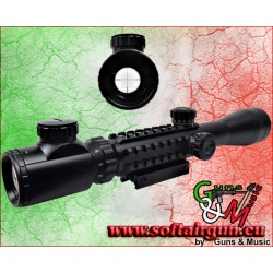 JS-TACTICAL OTTICA LENTE 40MM ZOOM 3X-9X (JS-3-9X40RAIL)