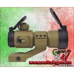 JS-TACTICAL RED DOT LENTE 30mm TAN (JS-1X30RDTAN)