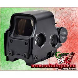JS-TACTICAL RED DOT OLOGRAFICO NERO (JS-555B)