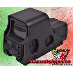 JS-TACTICAL RED DOT OLOGRAFICO COMPATTO NERO (JS-RD551)