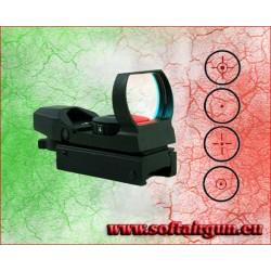 ROYAL RED DOT OLOGRAFICO CON 3 LIVELLI DI INTENSITA'(N22X33)