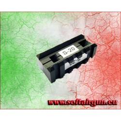ROYAL SLITTA PICATINNY PER TACCA DI MIRA M4/M16 ALLUMINIO...