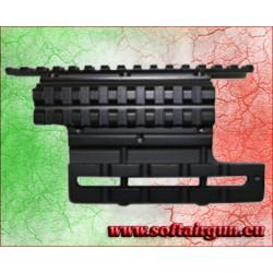 SLITTA DOPPIA PER AK 74 IN METALLO ROYAL (S23)
