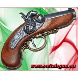 Pistola Baby Deringer Philadelphia USA 1850 denix in metallo e legno (uccisione Lincoln)