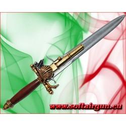 Pistola pugnale Francia XVIII secolo Denix in metallo e...