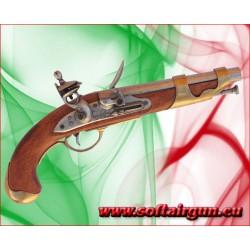 Pistola da cavalleria francese ad avancarica del 1800 in...