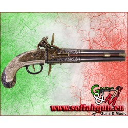 Pistola Inglese a 2 canne rotanti del 1750 Denix 33cm in...