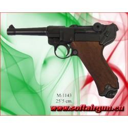 Luger P08 Legend Parabellum Pistola Inerte Full Metal