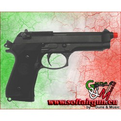 WE PISTOLA A CO2 SCARRELLANTE M9A1 NERA (W048C)