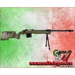 WELL FUCILE SNIPER M40A5 BOLT ACTION CON BIPIEDE VERDE...