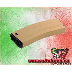 G&G CARICATORE HI-CAP 450 COLPI PER M4/M16 DESERT TAN...