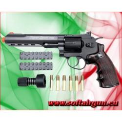 """WIN GUN REVOLVER A CO2 6"""" NERO (C 702)"""