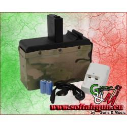 G&G CARICATORE ELETTRICO 2500 COLPI PER CM16 LMG...