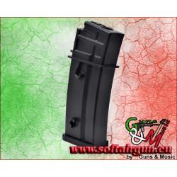 J.G. WORKS CARICATORE MAGGIORATO 470 COLPI PER G608 NERO...