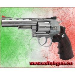 """WIN GUN REVOLVER A CO2 4"""" ARGENTO (C 701S)"""