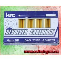 HFC SET 6 BOSSOLI PER REVOLVER HG 132B, HG 132S, HG 133B(C2)