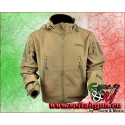 JS-TACTICAL GIACCA SHARK SKIN BROWN TAGLIA L (JW-BR-*)