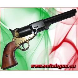 Revolver Colt Army Navy 1851 singola azione Gold