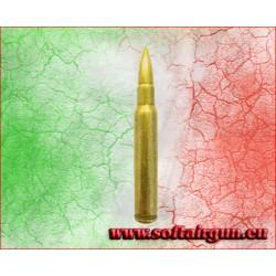 Proiettile inerte 7,62 Nato Garand 80mm.