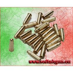 24 Pallottole finte per cinturone Cowboy Western