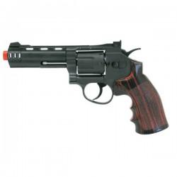 """WIN GUN REVOLVER A CO2 4"""" NERO (C 705)"""
