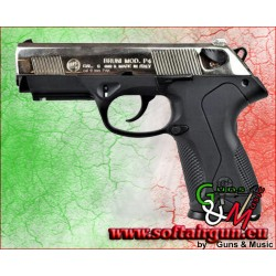 PISTOLA CALIBRO 9mm A SALVE P4 NIKEL BRUNI (BR-2601N)