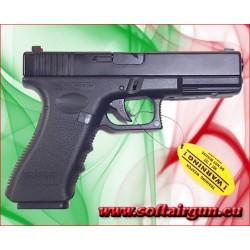 GLOCK 17 SCARRELLANTE FULL METAL-HFC-HG185 sicura sul...