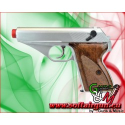 HFC PISTOLA Mauser A GAS SILVER(HG 106S)