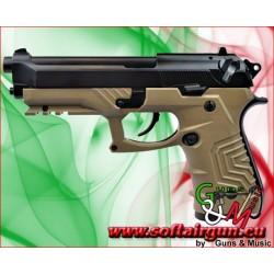 PISTOLA M9 Tactical a GAS HG-173 TAN HFC (HG 173T)