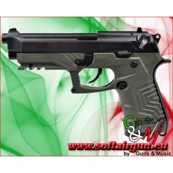 PISTOLA M9 Tactical a GAS HG-173 VERDE HFC (HG 173G)