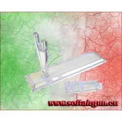 Espositore supporto per pistola in PVC trasparente