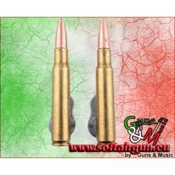 Denix COPPIA SUPPORTO DA PARETE PER Springfield fucile,...