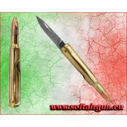 Proiettile con coltellino tipo munizione .30-06...