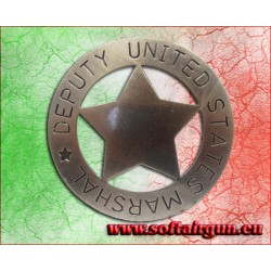 Distintivo Stella Deputy United States Marshal Cm.8