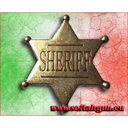 Stella da sceriffo USA distintivo in metallo Denix cm 4.5