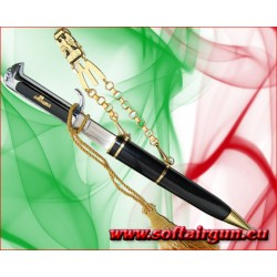 Daga Benito Mussolini M.V.S.N. pugnale in metallo 32 cm