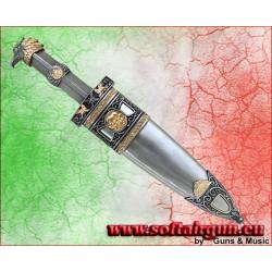 Pugio Romano pugnale in metallo 35 cm
